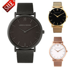 Wholesale Glass Mesh - 2017 New Top Luxury Watch Men Brand Men's Watches Ultra Thin Stainless Steel Mesh Band Quartz Wristwatch Fashion casual watches