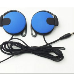 Wholesale Noise Cancelling Headphones For Telephone - Headphones 3.5mm Headset EarHook Earphone For Mp3 Player Computer Mobile Telephone Earphone Wholesale wholesale earphone brand