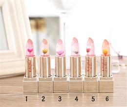 Wholesale Magic Lipsticks - Magic Lip Gloss Stick Color Temperature Change Moisturizer Bright Surplus Lipstick Lips Care Makeup Comstics
