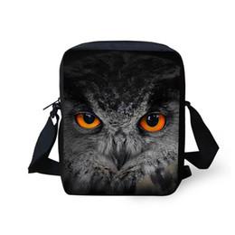 Wholesale owl single shoulder handbag - Wholesale- Owl Bag Panda Mini Messenger Bags for Women 3d Animal Crossbody Bags Bolsos Mujer Small Shoulder Bags Girl Handbags Multicolor