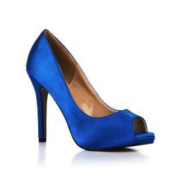 Wholesale Black Satin Peep Toe Pumps - Silk Satin Wedding Shoes Elegant Ladies Open Toe Pumps Stilettos High Heels Zapatos Mujer Platform Peep Toe Big Size 41 42 43 Single Shoes