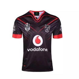 Wholesale Team Clothing Free Shipping - 2017 supper rugby jersey all black New Zealand warriors rugby shirt any teams rugby clothes free shipping can drop shipping size S to XXXL