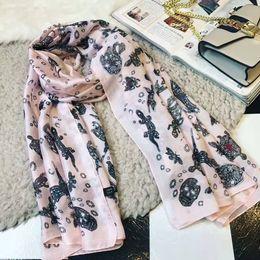 Wholesale Faux Fur Cashmere Scarf - 2018 women spring luxury brand fashion scarf silk chiffon scarves shawls ladies scarfs echarpe femme foulard sjaal bufandas mujer