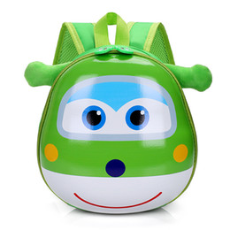 Wholesale 3d Abs - Kids Baby Cartoon School Bags 3D Super Wings Jett Backpack For Kindergarten Girls Boys Cute Schoolbag Children's Gift
