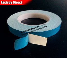 Wholesale Bonding Tapes - Wholesale- 2016 (0.25mm thick) 12mm*25M High Temperature Thermal Conductive Double Adhesive Tape for LED Lighting, Panel Bond