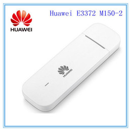 Wholesale Huawei Wireless Usb Modem - Unlocked Huawei e3372 e3370 M150-2 4G LTE USB Dongle USB Stick Datacard Mobile Broadband USB Modems 4G Modem LTE Modem