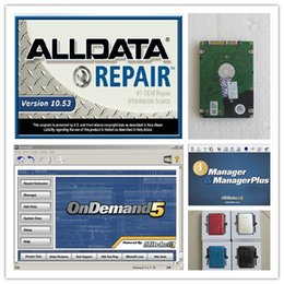 Wholesale Vw Window Repair - 3in1 with 750gb HDD Alldata repair Software Alldata 10.53+mitchell ondemand software+manager plus for all cars&trucks support Windows 7 8 xp