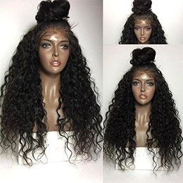 Wholesale Chinese Virgin Wig - Grade 9A Brazilian Glueless Full Lace Human Hair Wigs with Baby Hair Pre Plucked 360 Lace Frontal Wigs for Black Women