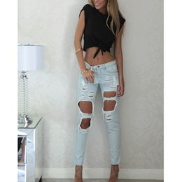 Wholesale S Z1 - Wholesale-Hot New Fashion Spring Summer Style Sexy Women Crop Tops Short Sleeve T Shirt Women's bustier crochet Cropped Top Ropa Mujer Z1