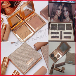 Wholesale Eyeshadow Lipgloss Set - New Makeup Set Dose of colors Desi X Katy Set THE GIRLS eyeshadow palette from the Collection 4color eyeshadow highlighter Lipstick Lipgloss