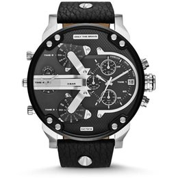 Wholesale Nude Silicone - New watches men luxury brand DZ7314 DZ7313 men watches fashion casual mens quartz watch military montre homme male wristwatch wrist watches