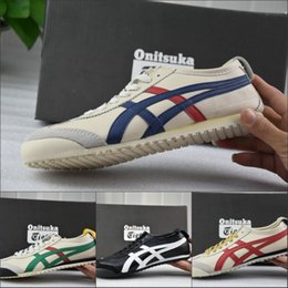 Wholesale Orange Athletic Shoes For Men - 2017 Fashion Asics Onitsuka Tiger Running Shoes For Women Men, Wholesale High Quality Athletic New Color Sport Sneakers Shoes Eur 36-45
