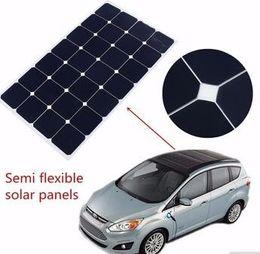 Wholesale Flexible Solar Battery - 2017year hot sale,High efficiency Waterproof Transparent Semi Flexible Solar Panels 90w for 12v 24v battery system
