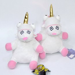"""Wholesale Unicorn Soft Toys - Hot New 8"""" 20CM Unicorn Plush Doll Party Anime Collectible Dolls Stuffed Pendants For Best Gifts Soft Toys"""