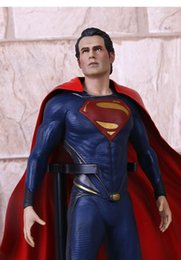 Wholesale New Superman Man Steel - DC Comics Classic Comics Crazy Toys SUPERMAN MAN OF STEEL 30cm Action Figure NEW WITH BOX