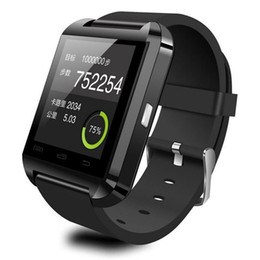 Wholesale Android S5 - Bluetooth Smartwatch U8 U Watch Smart Watch Wrist Watches for iPhone 7 6S 5S Samsung S4 S5 Note 4 Note 7 HTC Android Phone