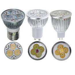 Wholesale Square Led Spot - High Power Cree Led Light Bulbs E27 B22 MR16 9W 12W 15W Dimmable E14 GU5.3 GU10 Led Spot lights led downlight lamps