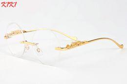 Wholesale Amber Designs - New 2017 Fashion Round Sunglasses For Women Designer Sunglasses Classic Retro Shades Brand Design Coating Rimless Buffalo Glasses UV400