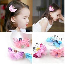 Wholesale Little Butterfly Fashion - Fashion Girls fairy tale little princess Bowknot Barrette Frozen Cinderalla SnowWhite Butterfly Hair Clip Clamp Hairpin Hair Accessories