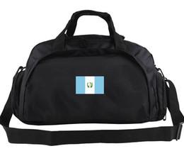 Wholesale Football Nation - Guatemala duffel bag Nation team logo tote Outdoor soft luggage Football duffle Handle backpack Sport sling handbag