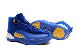 Wholesale Cheap Brands Online - Men Basketball Shoes brands 12 gamma blue 12s low sports sneakers for Mens cheap designer running Hot sale online with box