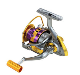 Wholesale bb bears - Spinning Fishing Reel 12+1 BB Ball Bearing Full Metal Handle Left Right Handed Saltwater Freshwater Fishing Spinning Reel