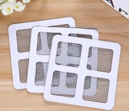 Wholesale Windows Mosquito Nets - Window Screen Patch Window Sheer Curtains Mosquito Netting Patch Repairing Broken Holes on Screen Window Door Anti-mosquito Mesh Free Delive