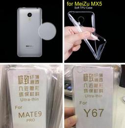 Wholesale Note2 Clear Case - 0.3MM Ultra Thin Clear Soft TPU Case For Huawei Mate9 Mate 9 Xiaomi Note2 Mix Max Redmi 4 Transparent Gel Skin Phone Crystal Cover 200pcs