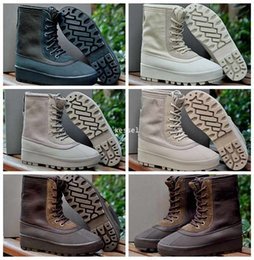 Wholesale Knee High Canvas Sneaker Boot - New 950 Boost Moon Rock Pirate Black Boots For Women Men,Mens Woman Kanye West High Top Height Increasing Sports Trainers Casual Sneakers