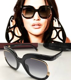 Wholesale Contact Frames - 863 S Large Frame Hot Brand Women Designer Half Frame 863 Square Sun Glasses Summer Retro Fashion Style If you Need Other Contact Me