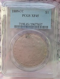 Wholesale People Room - Wholesale Hot Selling PCGS 1889-CC MS63 MS62   XF45  AU50 Morgan One Dollar Coin  FREE SHIPPING