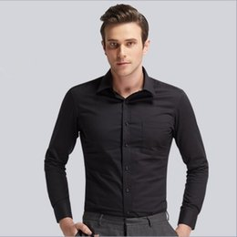 Shirt Men's Black Wedding Dress
