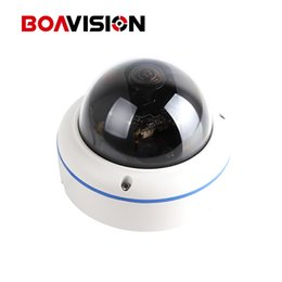 Wholesale Waterproof Cctv Camera Housing - CCTV Surveillance Dome IP Camera 720P Outdoor POE Fisheye Lens Waterproof H.264 Metal Housing 120 Degree View Onvif IP Camera