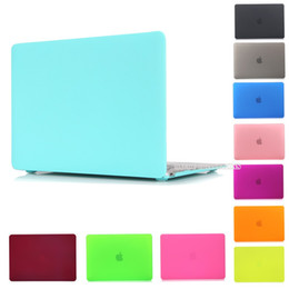 Wholesale Macbook Pro 17 New - For Macbook Air  Pro Retina full series Laptop Case New Hard Matte Frosted Full Protective Laptop Sleeve Cover