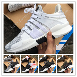 Wholesale Red High Shoes Men - 2017 Hot EQT Support ADV Primeknit hot sale high quality running shoes for men and women sports shoes sneakers womens Size 36-45 US 5.5-11