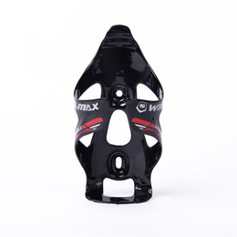 Wholesale Cycling Carbon Bottle - WINMAX High Quanlity Full Carbon Material Bicycle Bottle Holder Bike Accessories Cycling Mountain Bike Water Bottle Holder Cage