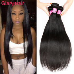 Wholesale Hair Weave Supplies - Factory Supply Unprocessed 8a Mink Cheap Brazilian Straight Human Hair Bundles Raw Indian Malaysian Peruvian Straight Weave Hair Extensions
