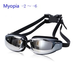Wholesale Red Polycarbonate Lenses - Multi Prescription Optical Myopia Nearsight Goggle Glasses Sportswear Silicone Polycarbonate Lens Anti-fog Coated Watertight Free Shipping