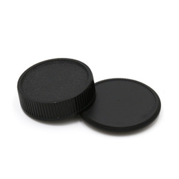 Wholesale Camera Lens M42 - Wholesale-camera Body cap + Rear Lens Cap for M42 42mm Screw Mount Camera and lens free shipping