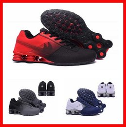 Wholesale Black Cycling Winter - cheap shox shoes deliver NZ R4 809 men running shoes brand for basketball sneakers sports jogging trainers best sale online discount store