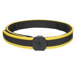 Wholesale Ipsc Shooting Belt - EMERSON High Quality IPSC Special Shooting Belt Tactical Outdoor Sport Waist Hunting Strip Red Blue Yellow