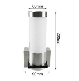 3W LED de aluminio de un solo cabezal de doble cabeza lámpara de pared de acrílico habitación de hotel lámpara pasillo de noche pasillo luces del pasillo desde fabricantes