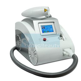 Wholesale Laser Removing Tattoo Machine - Portable Touch Screen Q Switch nd Yag OPT Laser Hair Remove Equipment Tattoo Remove Freckle Removal Devices with 3 Heads Beauty Machine