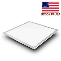 Wholesale Ft Mm - LED Panel Light 30w 36w 42w 48w 54w 60w 600X600 mm led flat panels lights dimmable 2x2 ft indoor lighting led ceiling lamps