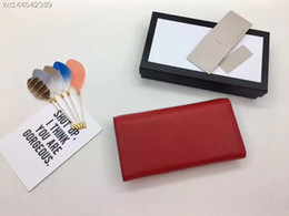 Wholesale Red Checkbook Wallet - Hot sale 100% genuine leather premium design cover for female Female bag Classic luxury wallet Italian manufacturer of bags