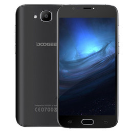 Wholesale Mini Cell Phone Wifi Tv - Original 5.0'HD Screen DOOGEE X9 mini Cell phone MT6580A Quad Core 5MP Android 6.0 Smartphone RAM 1GB ROM 8GB Dual SIM 3G WCDMA Phone