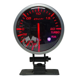 Wholesale Defi Gauge Temp - Free shipping 60mm Defi Link Meter BF Series red white light Boost Oil Pressure Oil Temp Water Temp Tachometer Vacuum Volt Exhasut Temp