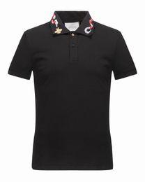 Wholesale Polo Xl Ralph - New Arrival 2017 Brand Men Fashion Short POLO snake adornment Casual Camisetas Masculinas Plus Size M-3XL 16522