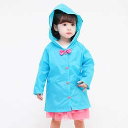 Wholesale New Coats Design For Boys - New Design Kids Raincoat Boys Rain Coat Children Waterproof Rain Coat Rain Gear Raincoats for Girls Rainwear 3 Colors JL0091