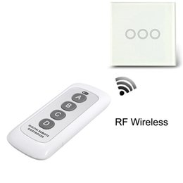 Wholesale digital wireless control switch - Wholesale-Portable RF 443MHz 12V 0.5W Plastic Mini Digital Wireless Remote Control Controller Wall Touch Light Lamp Switch Accessaries